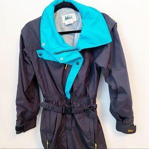 REI Vtg Ultrex By Burlington Ski Snow Suit Sz 8